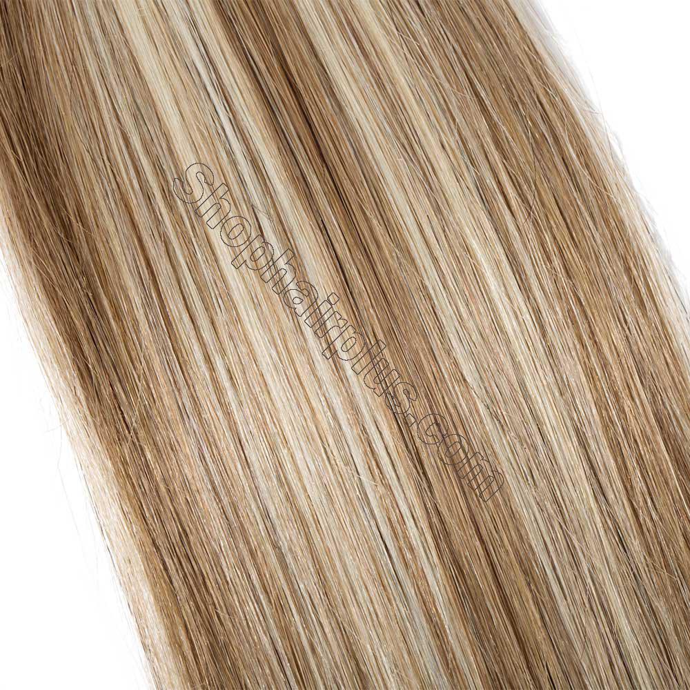 2.5g/s 20pcs Straight Tape In Hair Extensions #12/613 4