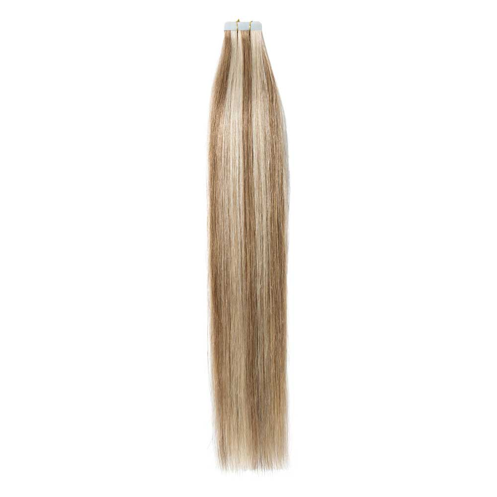 2.5g/s 20pcs Straight Tape In Hair Extensions #12/613 7