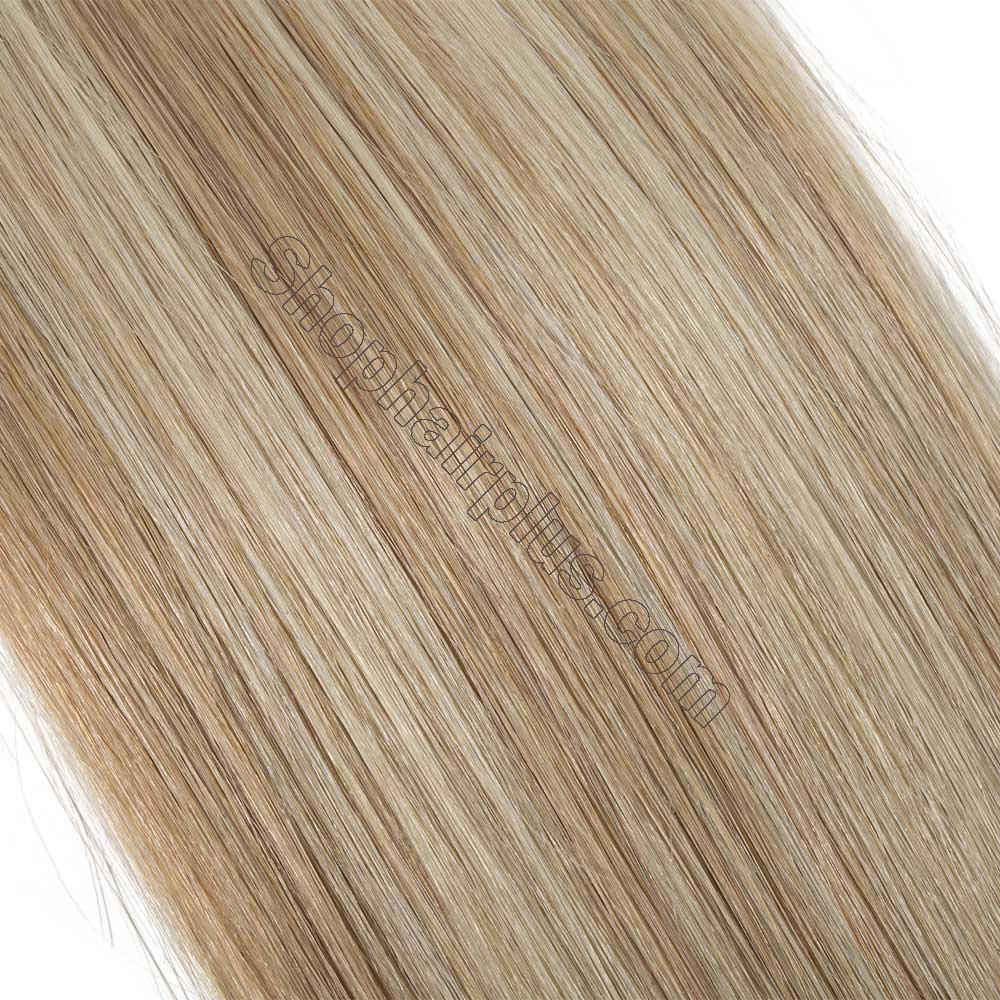 2.5g/s 20pcs Straight Tape In Hair Extensions #18/613 4