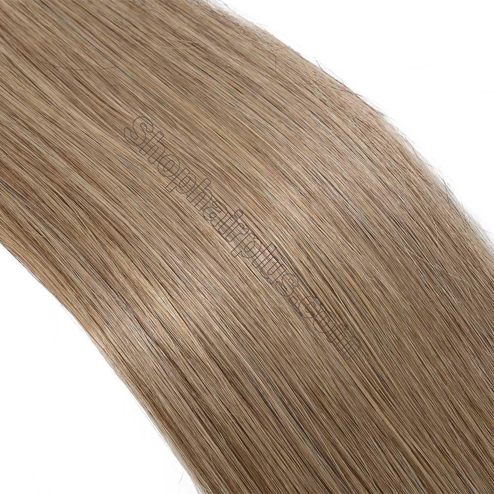 2.5g/s 20pcs Straight Tape In Hair Extensions #27 Dark Blonde 4
