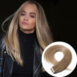 2.5g/s 20pcs Straight Tape In Hair Extensions #27 Dark Blonde