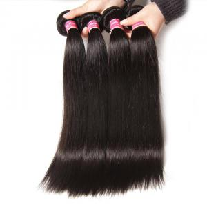 4pcs/lot Brazilian Straight Virgin Hair Weave, Hot Sale Virgin Straight Human Hair Extensions