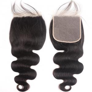 8A Body Wave 6x6 Lace Closure with Baby Hair Free Part Swiss Lace Closure for Black Women