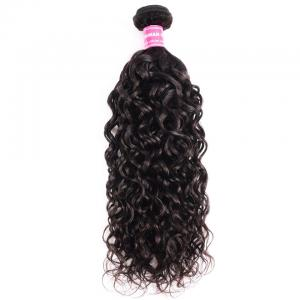 8A Brazilian Loose Water Wave One Bundle Virgin Human Hair Weave