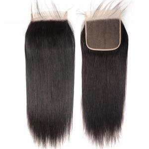 8A Straight Hair 6×6 Closure Human Hair Hand Tied Swiss Lace Front Closure with Baby Hair