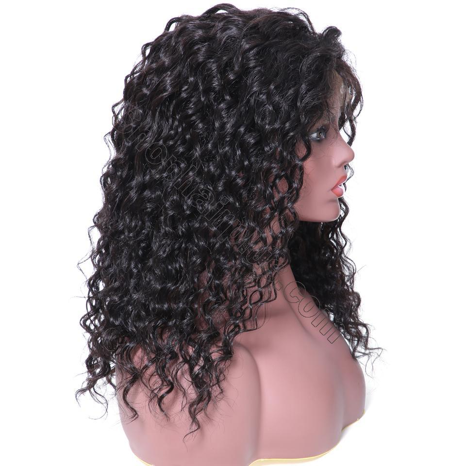 9A 150% Density Deep Wave Curly Lace Front Human Hair Wig On Deals, 13*4/13*6 Lace Closure 8