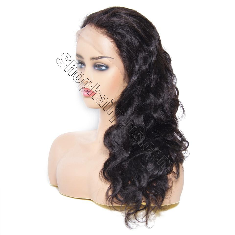 9A 360 Frontal Wig 180%/150% Density Body Wave Virgin Human Hair-Klaiyi Hair 2