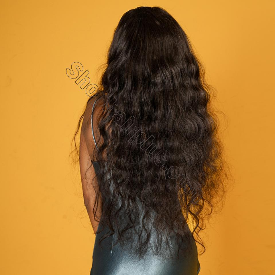 9A 360 Frontal Wig 180%/150% Density Body Wave Virgin Human Hair-Klaiyi Hair 4