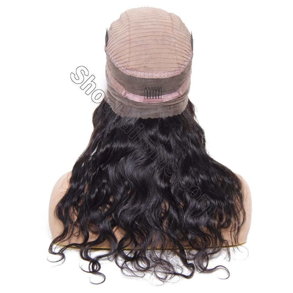 9A 360 Frontal Wig 180%/150% Density Body Wave Virgin Human Hair-Klaiyi Hair 5