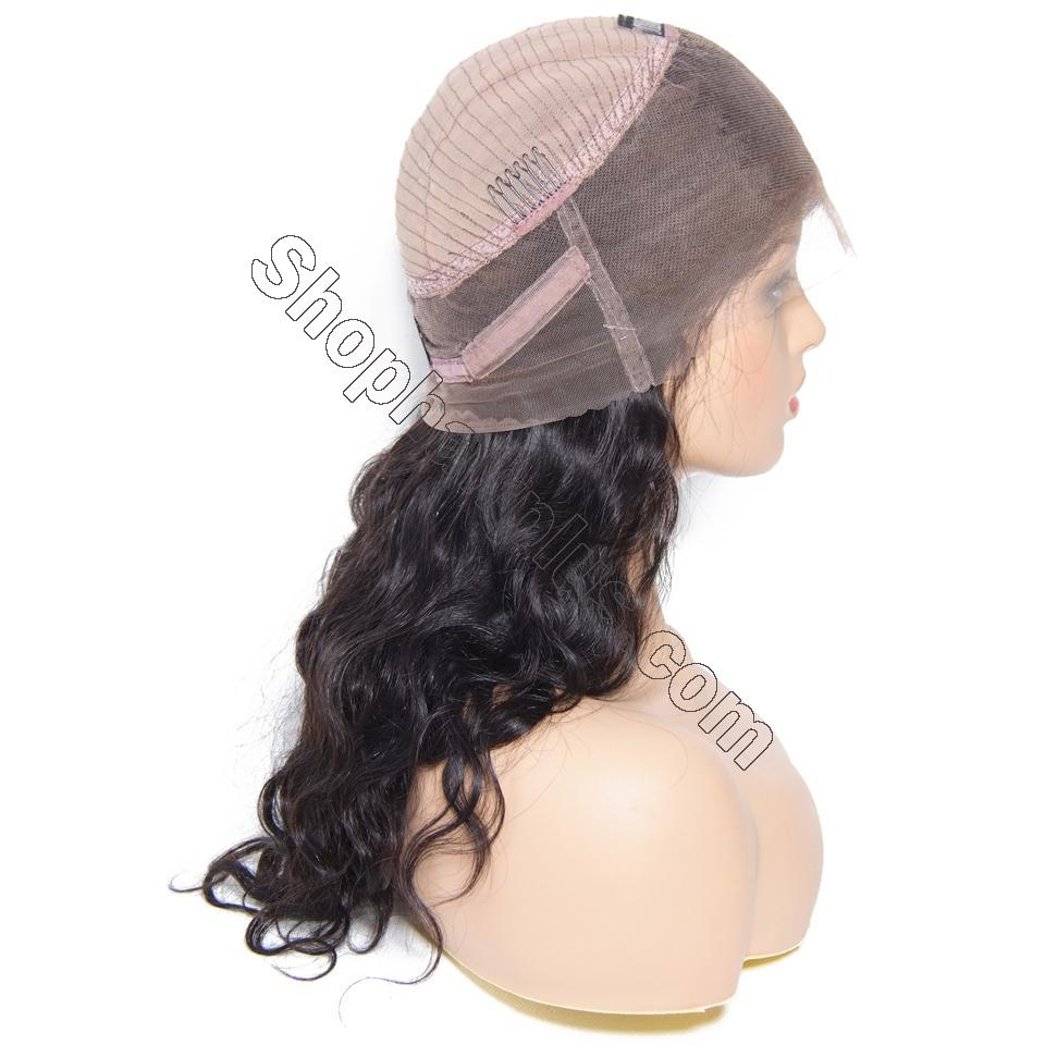 9A 360 Frontal Wig 180%/150% Density Body Wave Virgin Human Hair-Klaiyi Hair 6