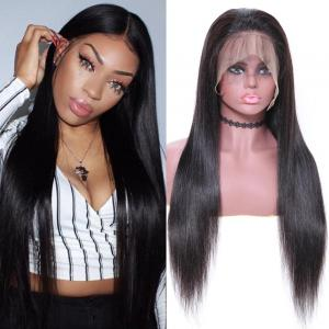 9A 360 Silky Straight Lace Front Human Hair Wig On Sale. 180%/150% Densit