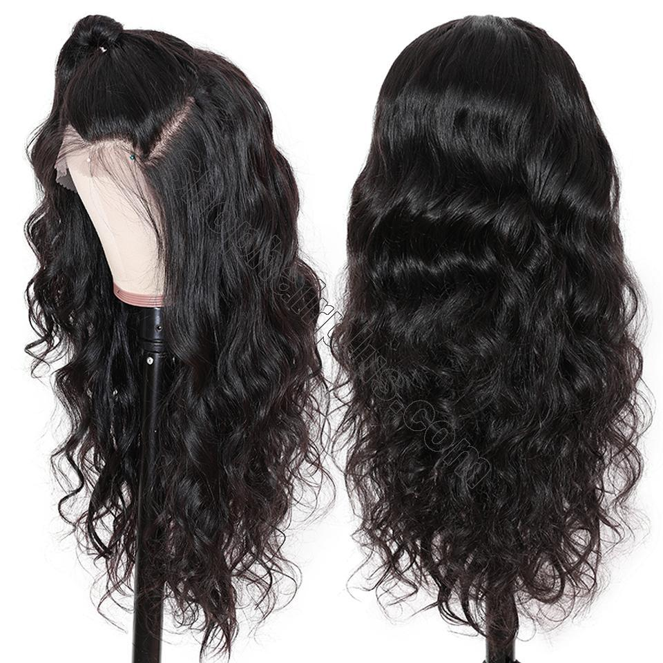 9A Grade 13*4/13*6/360 Lace Front Body Wave Human Hair Wig 180%/150% Densit 3