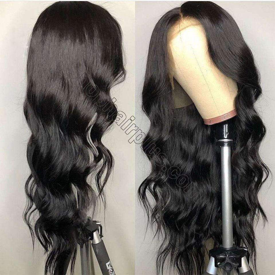 9A Grade 13*4/13*6/360 Lace Front Body Wave Human Hair Wig 180%/150% Densit 5