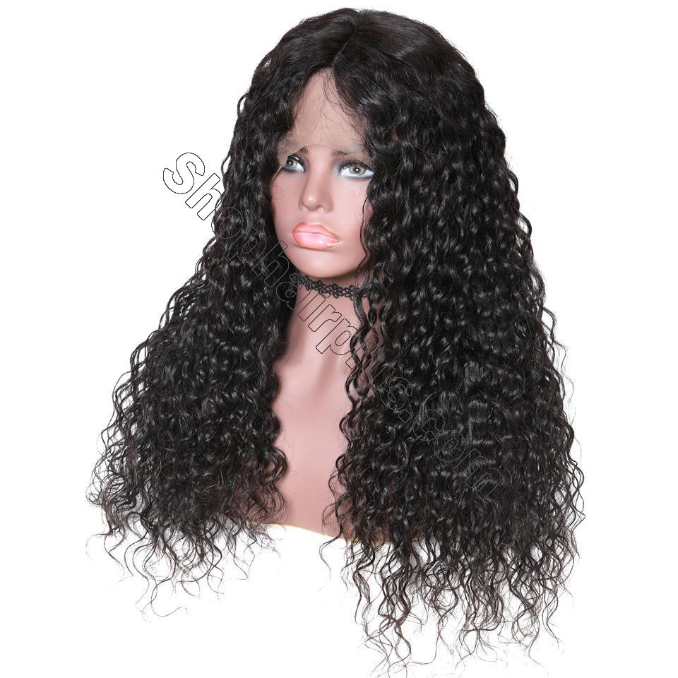 9A Grade Water Wave 13*6 Lace Front Human Hair Wig, 150% Densit 3