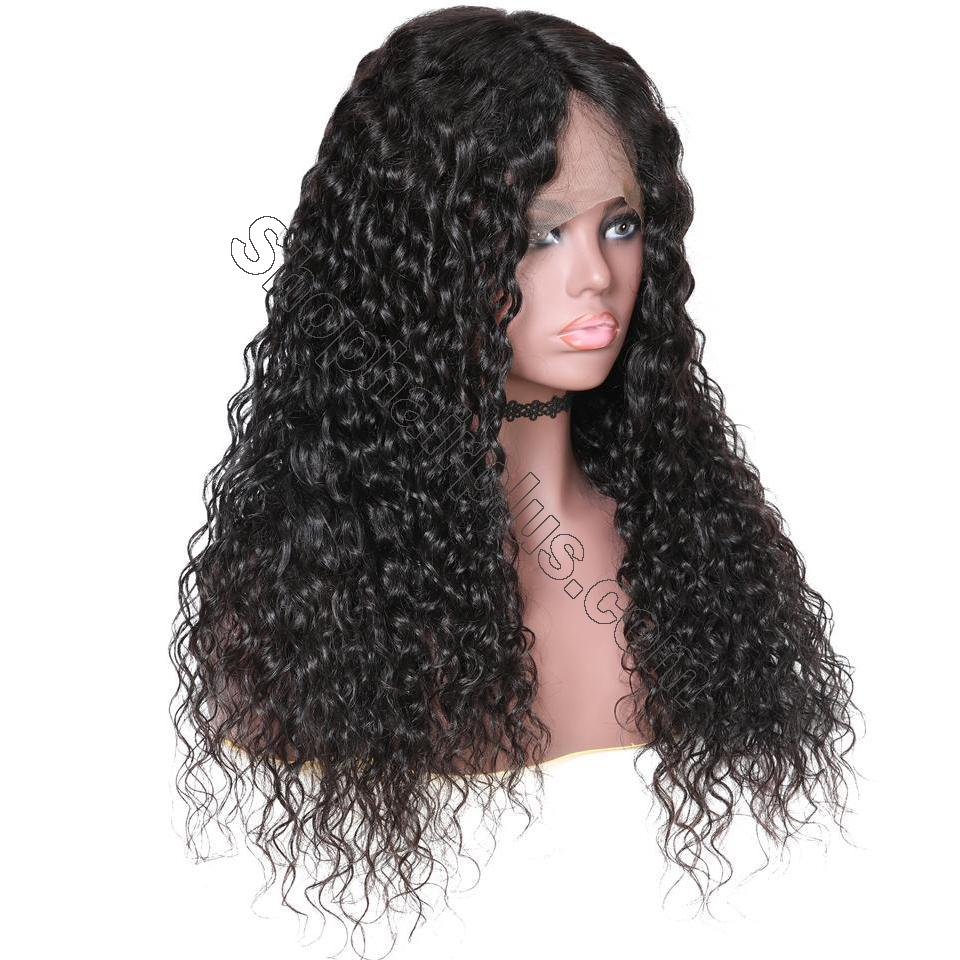 9A Grade Water Wave 13*6 Lace Front Human Hair Wig, 150% Densit 4