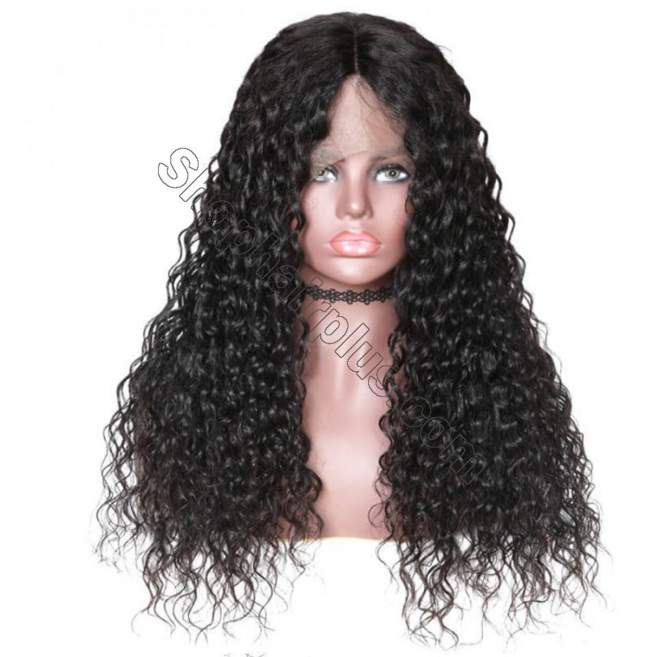 9A Grade Water Wave 13*6 Lace Front Human Hair Wig, 150% Densit 6