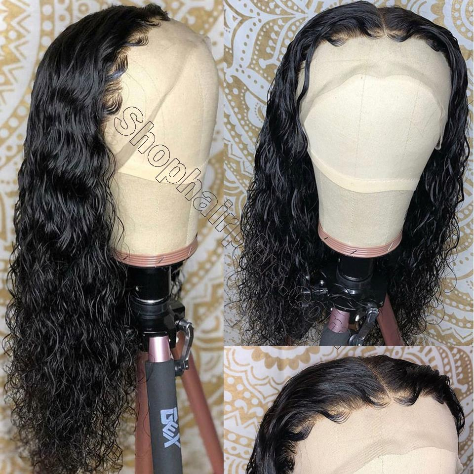 9A Grade Water Wave 13*6 Lace Front Human Hair Wig, 150% Densit 12