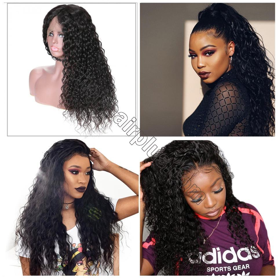 9A Grade Water Wave 13*6 Lace Front Human Hair Wig, 150% Densit 14