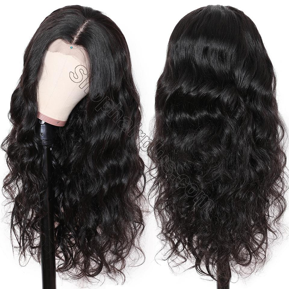 9A Transparent Lace Wig Body Wave Lace Frontal Wigs Virgin Human Hair Pre Plucked 4