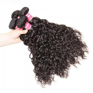Brazilian Water Wave 4 Bundles Deals, 100% Unprocessed Virgin Human Hair Weave
