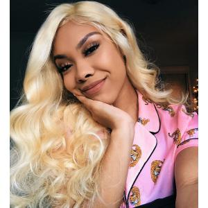 Malaysian Body Wave Blonde Hair Weaves 613 Color 3 Bundles 100% Remy Human Hair Weave