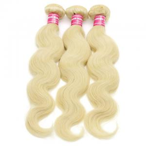 Peruvian Body Wave Blonde Hair Weaves 613 Color 3 Bundles 100% Remy Human Hair Weave